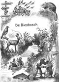 Omslagillustratie informatiegids, Biesbosch Informatiecentrum